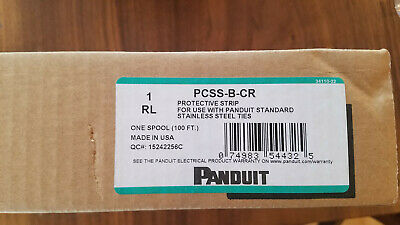 Panduit PCSS-B-CR, Protective Strip for Stainless Steel Ties (100 Foot Roll)