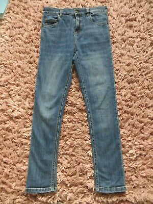 Boys Blue Zoo Blue Denim Super Skinny Adjustable Waist Jeans Age 12-13 years