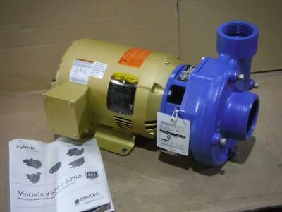 "Goulds 4BF1JBH0 5 HP Centrifugal Water Pump 230/460V 3 Phase 3"" Inlet"