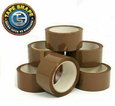 Buff Brown Packaging Parcel Packing Tape Strong 48mm x 66m 1- 720