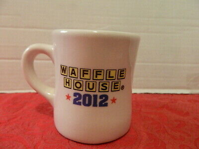 Waffle House America The Beautiful Coffee Cup Mug 2012 By Tuxton Restaurant Ware