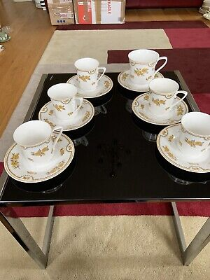 Spode china Austen range y8190 144 coffee cups ans saucers Old and new never use