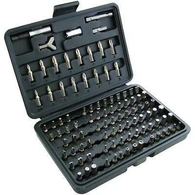 100PC Cromo Vanadio Torx Esagonale Cacciavite Punte Antimanomissione Set IN Case