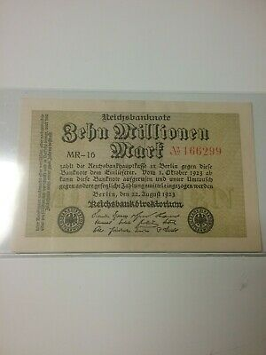 Early German Bank Note -clean Condition