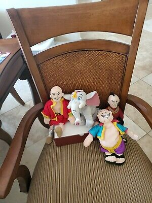 Warner Brothers Studio Store The King And I King  Plushes Bean Bag 4 Set
