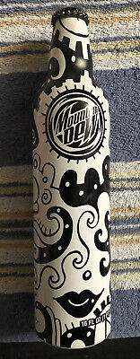 Mtn. Dew 2008 Green Label Art, Billy Art NYC Aluminum Bottle Unopened