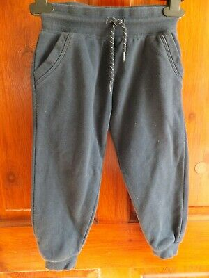 Boys Navy blue jogging bottoms, Primark, age 3-4 years