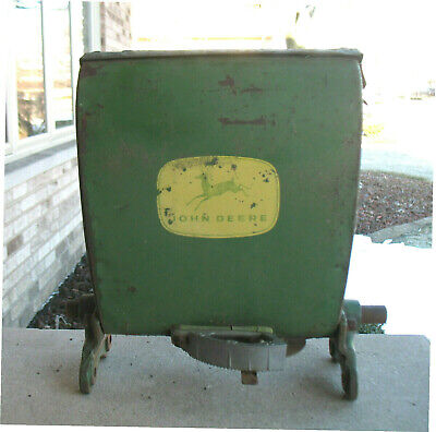 Vintage John Deere Insecticide Hopper B 13829 B, From JD Corn Planter 494A/495A