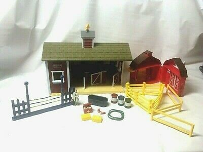 Breyer Stable Barn, Pocket Red Barn and Accessories