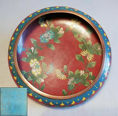 Chinese Cloisonné Bowl signed