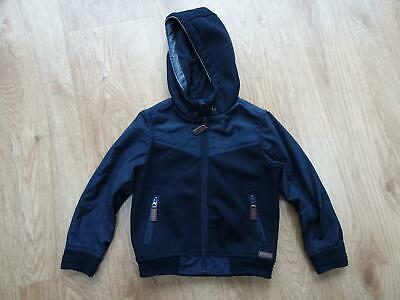 JASPER CONRAN boys navy blue hooded jacket coat AGE 6 YEARS EXCELLENT COND