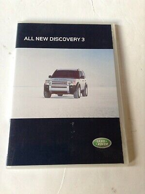 Land Rover Discovery 3 Launch Cd-Rom/Dvd