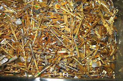 6 oz (170 grams) GOLD High-Yield Scrap Electronic Pins and Parts, GOLD Recovery