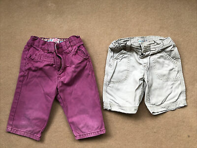 Boy Shorts Bundle 2-3 Years - 2 Pairs Of Shorts