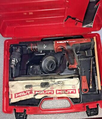 Hilti DX 351 Fully Automatic Powder-Actuated Tool With CASE and Accessories!