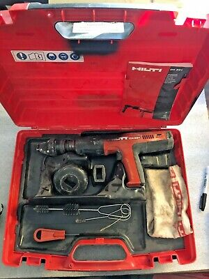 Hilti DX 351 Fully Automatic Powder-Actuated Tool w/ Case + ACCESSORIES