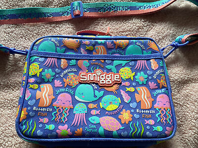 Girls Smiggle Under The Sea Themed Lunch Bag, Lunch Box