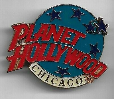 Planet Hollywood Collector Pin, Chicago