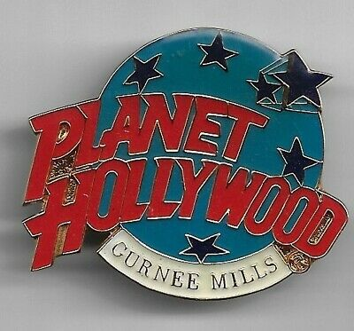 Planet Hollywood Collector Pin, Curnee Mills