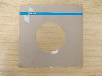 "1 Original JIVE 7"" company record sleeves"