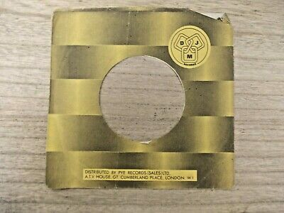 "1 Original DJM 7"" company record sleeves"