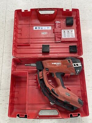 Hilti GX 3 Gas-actuated Fastening Nail Gun with Case