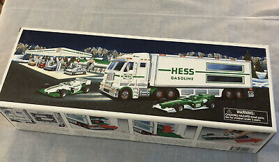 Hess 2003 Toy Truck and Racecars