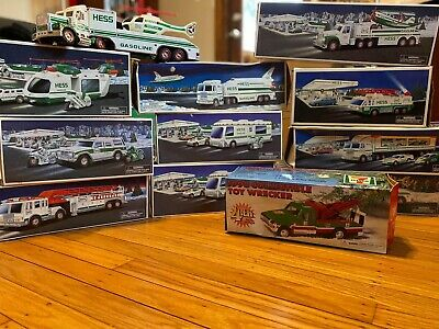 Collection Of 11 Hess Trucks Including 1 Citgo 7/11 Truck
