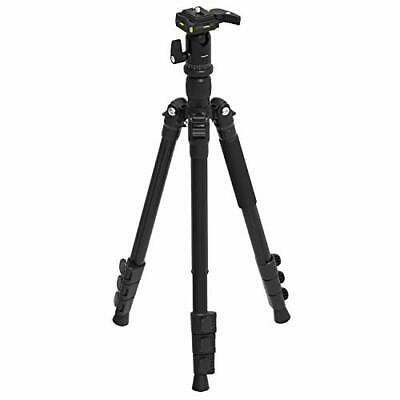 Sabrent 56 Inch Aluminum Tripod with 360 Degree Full Motion Camera Mount Comp...