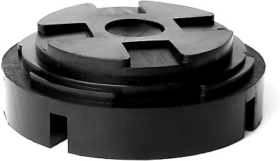 """AR-PRO Universal Fit 5.5"""" Large Rubber Jack Pad/Slotted Jack Pucks 
