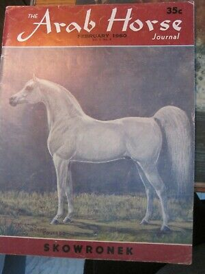 Lot Of 8 Vintage Arab Horse Journal Magazines Arabian From 1960