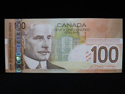 2004 $100 Bank of Canada Banknote BKC 6688027 Jenkins Dodge Choice UNC Grade