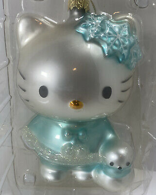 Sanrio HELLO KITTY Christmas Tree Mercury Glass Ornament Figurine 76 11