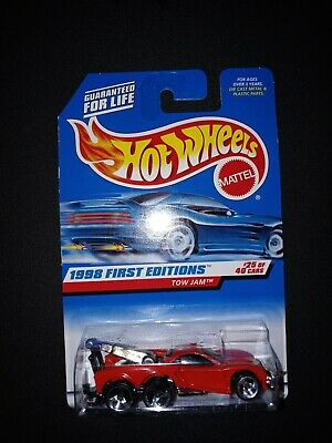 25 of 40 in Red with Original Box. Hot Wheels TOW JAM No