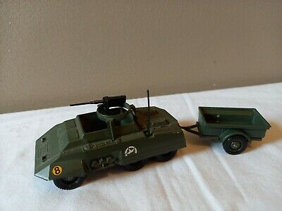 SUPPORTS ACCESSOIRES RESINE DINKY TOYS MILITAIRE HALF TRACK US MITRAILLEUSE