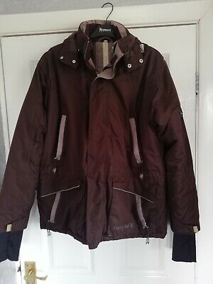 SHERWOOD FOREST THORNTON WATER PROOF RIDING COAT JACKET BLACK RRP £59.99