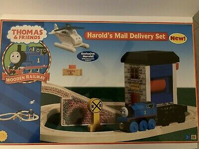 Thomas The Tank Engine Harold/'s Mail Delivery Set 99559 Learning Curve