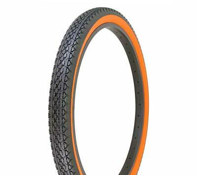 NEW BICYCLE DURO TIRE IN 26 X 2.125 RED//RED SIDE WALL IN KNOBBY STYLE!