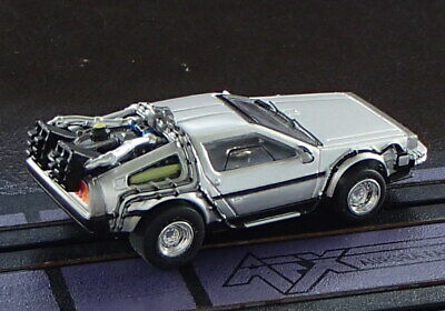 NOS Johnny Lightning Delorean Time Machine Xtraction HO Slot Car Run on Tomy AFX