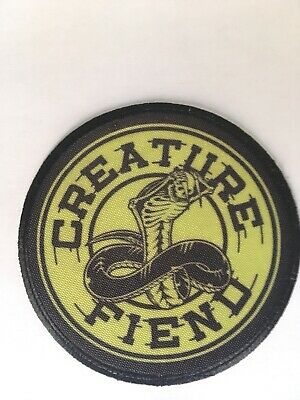 Creature NOBODY LIVES FOREVER PATCH Skateboard Beanie BLACK