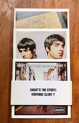 Oasis - (What's The Story) Morning Glory? - 3xCD promo - Chasing The Sun edition