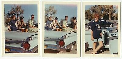 FORD vintage photos lot from original slides CD Mustang Cobra Fairlane SHELBY