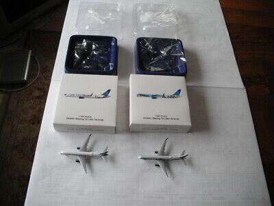 Gemini Jets United Airlines 757-200 California & New York/New Jersey 1:400 Scale
