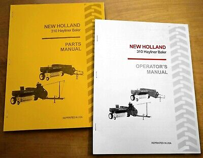 NEW HOLLAND 68 Hayliner Baler Operator S AND Parts Manual