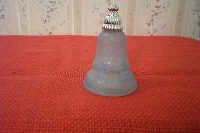 Avon Light Blue Frosted Joyous Bell 1978