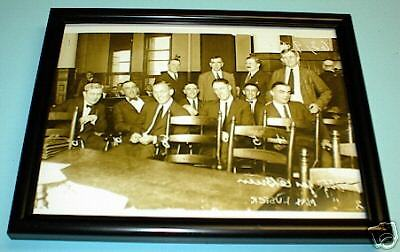 1920 Black Sox Attorneys Cook Co Courthouse Frame Print