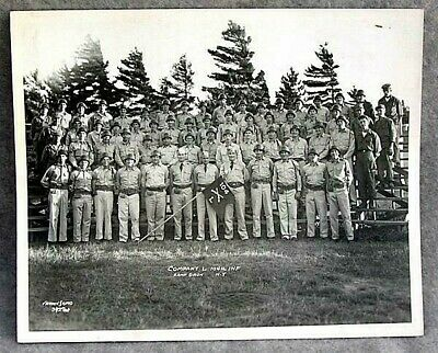 Co L 104 Infantry Mass National Guard 1950 `