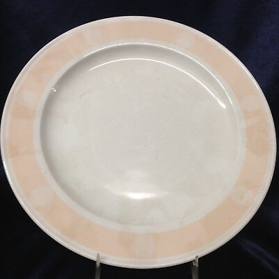 Bauscher Weiden Bavaria Germany Dinner Plate Peach