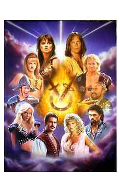 Xena: Warrior Princess- Age of Heroes Lithograph Signed by Lucy Lawless