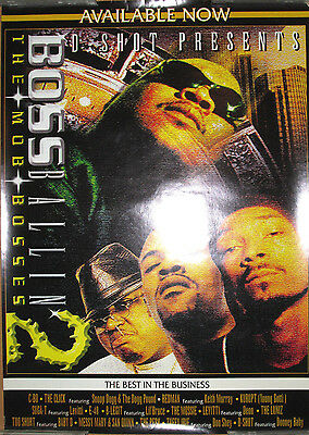 2001 17x24 orig Anonymous promotional poster hip-hop EX BAY AREA PLAYAS 3